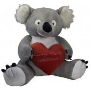 Koala con corazón personalizado 120 y 165cm
